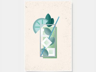 Mojito - Cocktail Poster