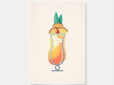 Mai Tai - Cocktail Poster
