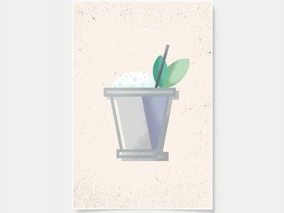 Mint Julep - Cocktail Poster