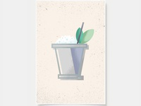 Mint Julep - Cocktail Poster