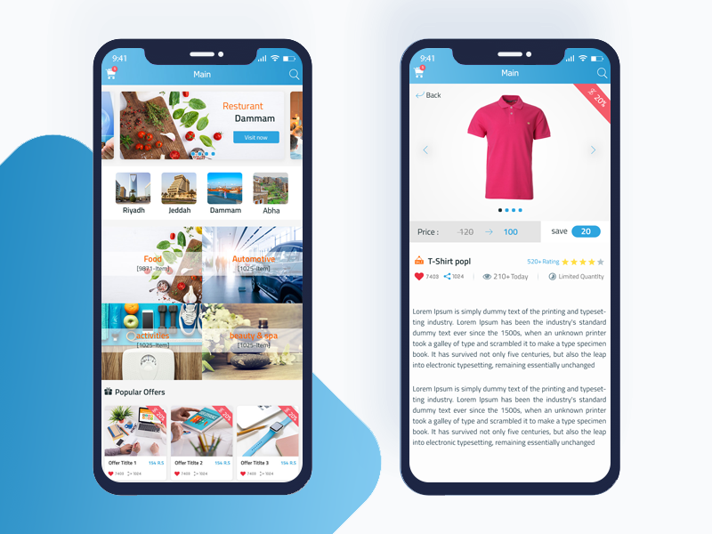 Copo Mobile App Design