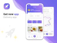 Get now - Delivery UI/UX app