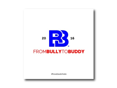 From Bully to Buddy logo layout typography