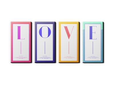 Love color illustration packaging typography valentine
