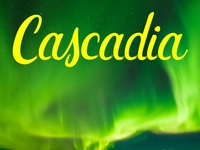 Cascadia hand lettering