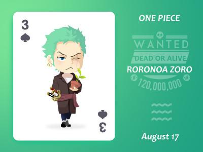 Roronoa Zoro!~ léon 罗罗诺亚·索隆 索隆 roronoa zoro one piece illustration