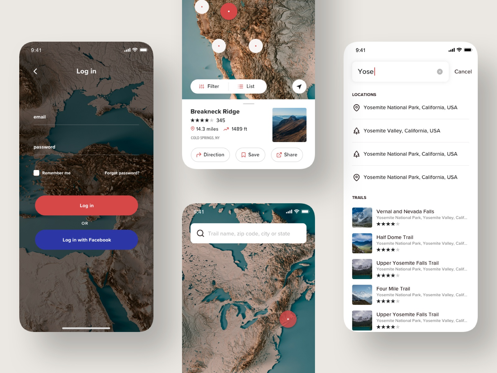 All trails dribbble 2
