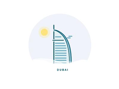 Dubai - Boiling illustration city sunny hot weather dubai