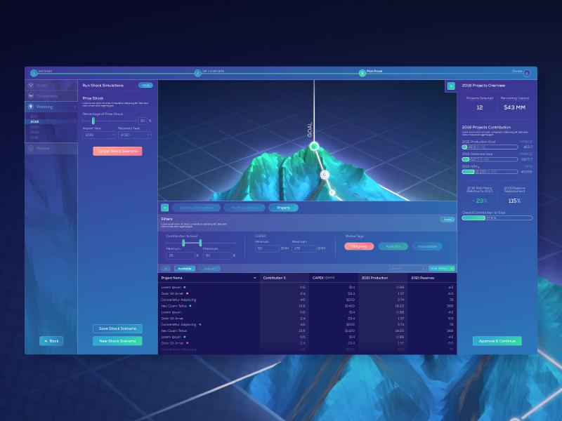 Portfolio Management - UI by Zaq Dayton | Dribbble | Dribbble