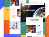 Lifeblue Homepage Redesign