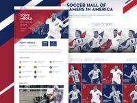 National Soccer Hall of Fame - Hall of Famers Experience