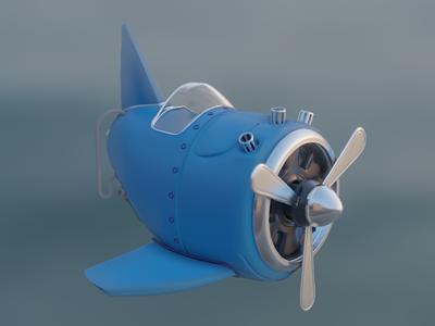 3D Aircraft modeling aircraft blender 3d