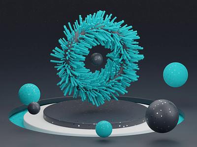 3D Satisfying Circle loop circle satisfying blender 3d