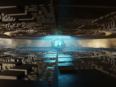 Looping Sci-Fi Environment eevee blender sci-fi looping loop 3d animation 3d