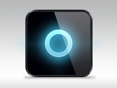 App icon test blue circle iphone iphone6 icon app application test