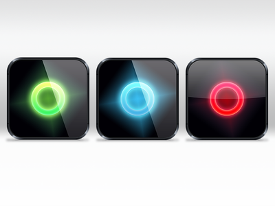 App icon – Color Test application ios iphone iphone5 icon app blue red green toxic icy fire glossy shiny