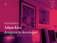 Adam Kiss 2013 – personal site 2