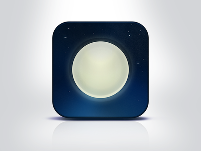 """iOs app icon – """"Nightly"""" is it me"""