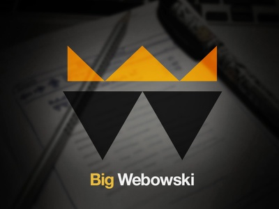Logo/Mark Exploration 2 yellow black blue white logo mark brand exploration dark wireframe shot
