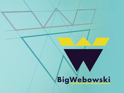 Logo/Mark Exploration 3 – final? teal cyan yellow black purple logo mark w flat lines wireframes