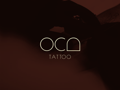 Logo ~ Oca Tattoo key visual visual identity brand grid logo studio tattoo oca