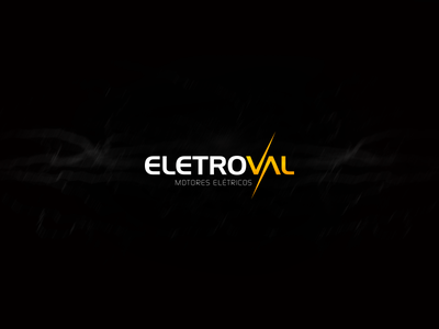 Logo | Eletroval electric visual identity brand light logo