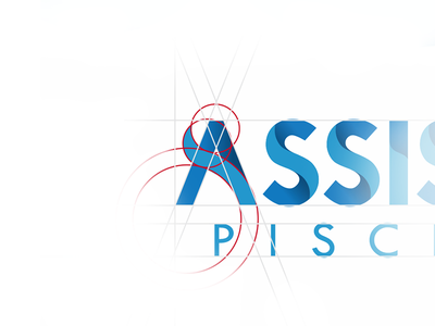 Logo | Assistec Piscinas phi grid visual identity brand icon logo