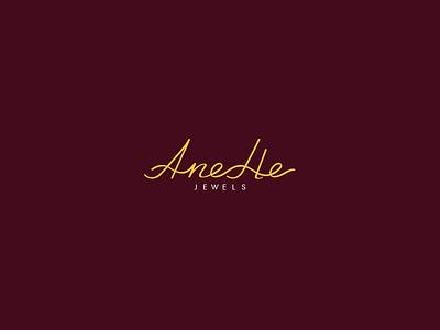 Logo Design | AneHe jewels icon logotype letter brand logo