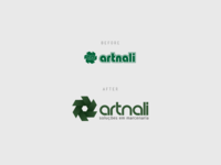 Logo Redesign | Artnali