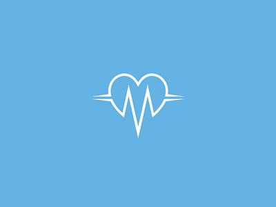 Vital Care Clinic - Logo Design fibonacci phi logotipo heart clinic identity care icon brand logo