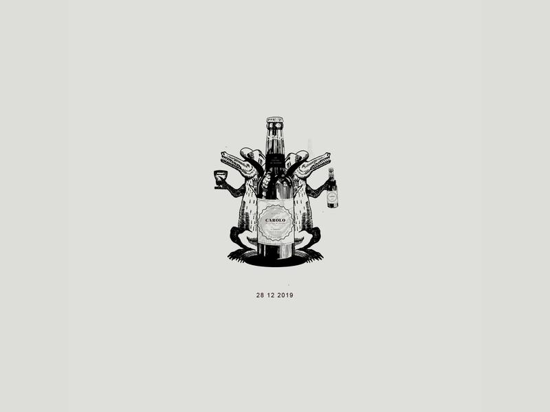 carolo 02 music beer festival carolo graphic graphic design illustration collage branding brand identity