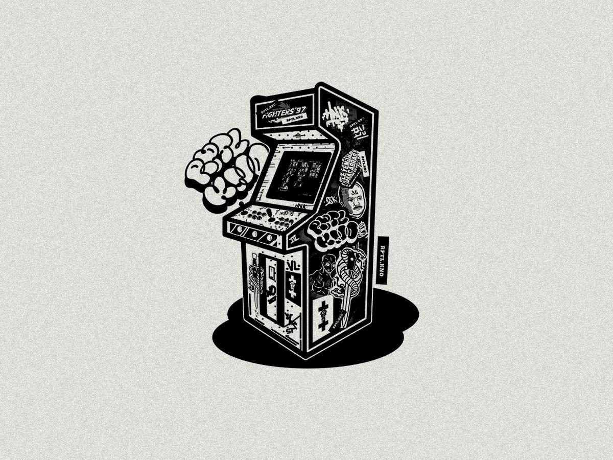 Kof 97     Memory vector graphic graphic design illustration illustrator design