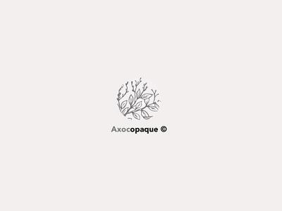 Axocopaque© design graphic vector logo illustrator branding graphicdesign brand identity graphic design