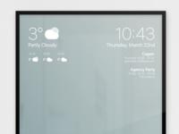 Smart Mirror UI