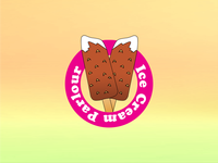 Ice Cream Parlor Logo