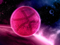 Dribbble Planet