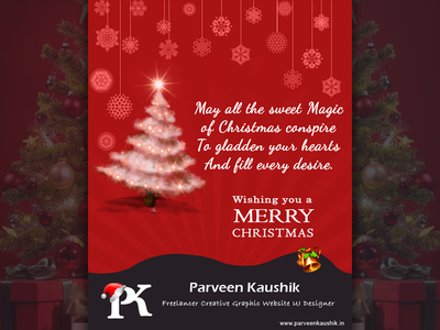 Christmas Email Template print template email gift festival holiday christmas card typography