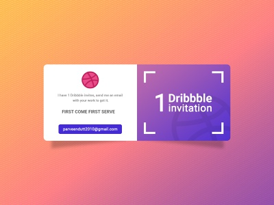Dribbble Invite for you, Send me your best work giveaway branding typography ui illustrator design invitation invite dribbble invitation dribbble invite dribbble dribbble best shot