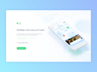 Hero block for Landing Page