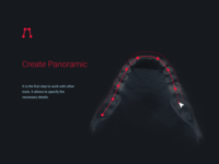 Design medical tool «Create Panoramic»