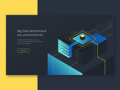 Hero Image for Datarium contract hero image sketch illustrator illustration icons flat cube abstraction
