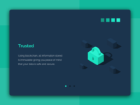 Illustration «Trusted» in text block.