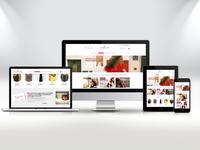 Webdesign / mockup