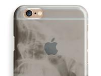 "Phhhone  ""Skull Scan"" iphone clear case"