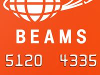 Beams JCB credit card By MGDR