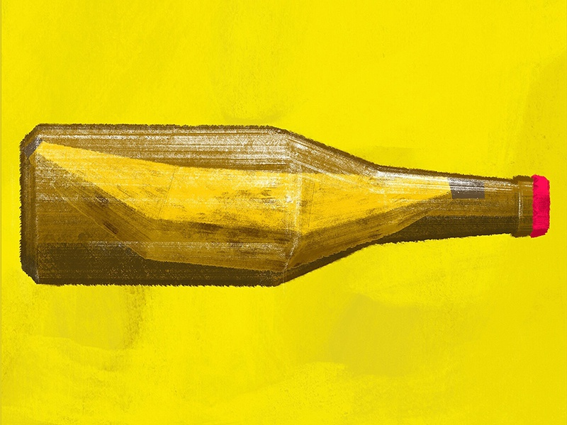 Banana Flavored Beer beer good beer hunting october editorial illustration beer blog banana banana beer