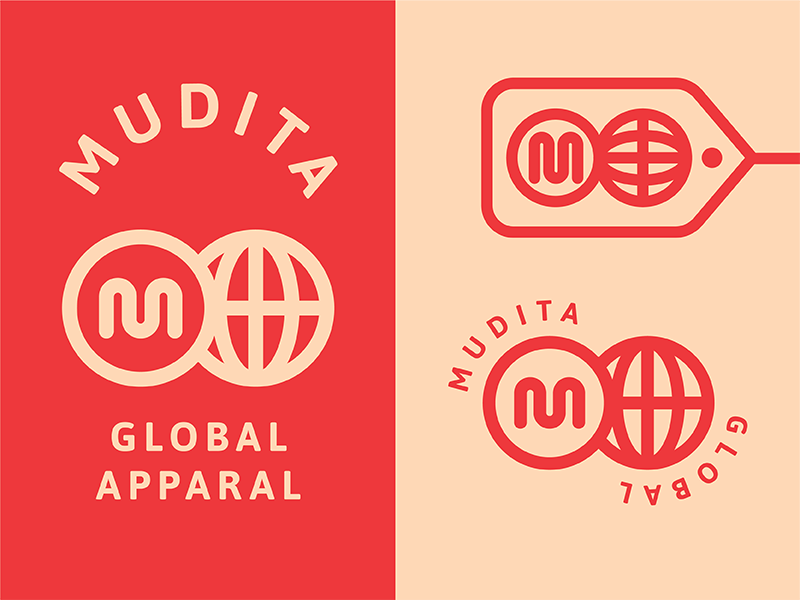 Mudita Exploration 02 global brand identity logo mudita