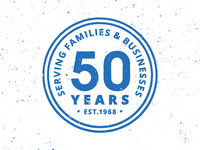 50 Years Stamp