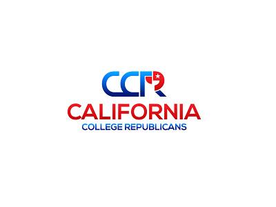 CCR america usa elections politics republican california art mainitials vector colorfull idea design clever classic branding logo