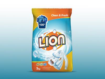 Washing Powder Packaging Design eyecatchy trendy colorfull vibrant paper machine powder washing print design packaging